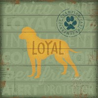Loyal Dog Fine Art Print