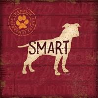 Smart Dog Fine Art Print