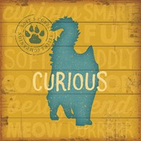 Curious Cat Fine Art Print