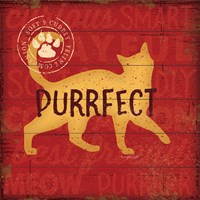 Purrrfect Cat Fine Art Print