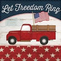 Let Freedom Ring Fine Art Print