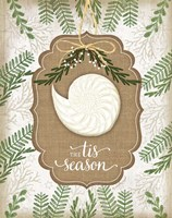 Coastal Christmas Season Fine Art Print