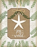 Coastal Christmas Joy Fine Art Print