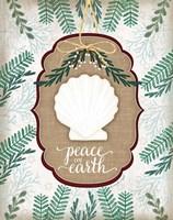 Coastal Christmas III Fine Art Print