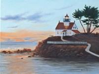 Battery Pt. Lighthouse Fine Art Print