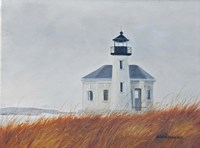 Co Quille River Lighthouse Fine Art Print