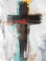 Contemporary Cross I Fine Art Print