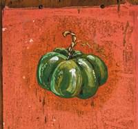 Green Pumpkin Fine Art Print