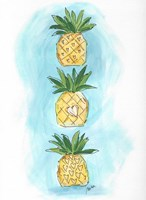 Pineapples Fine Art Print