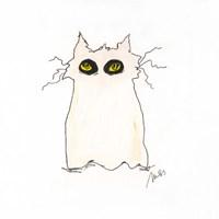 Ghost Cat Fine Art Print