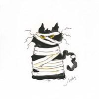 Mummy Cat Fine Art Print