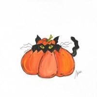 Jack O Cat Fine Art Print