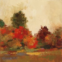 Fall Forest III Fine Art Print
