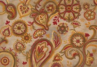 Linen Paisley Fine Art Print