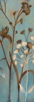Branches in Turquoise I Fine Art Print