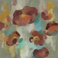 Marsala Blooms III Fine Art Print