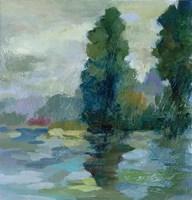 Sunrise at the Lake II Fine Art Print