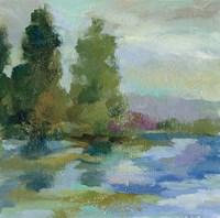 Sunrise at the Lake I Fine Art Print