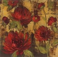 Majestic Dahlias I Fine Art Print