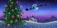 Santa's Sleigh Fine Art Print