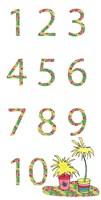 Camper Numbers Fine Art Print
