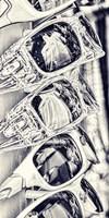 Cool Glass II Fine Art Print