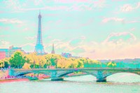 Pastel Paris Fine Art Print