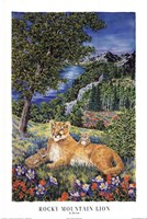 Colorado Mountain Lion Fine Art Print