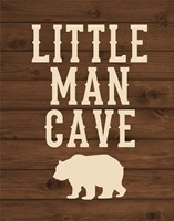 Little Man Cave Fine Art Print