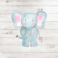 Watercolor Elephant Fine Art Print