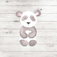 Watercolor Panda Fine Art Print