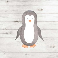 Watercolor Penguin Fine Art Print