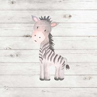 Watercolor Zebra Fine Art Print