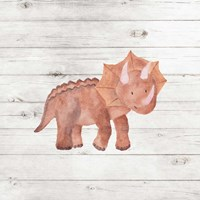 Water Color Dino Fine Art Print