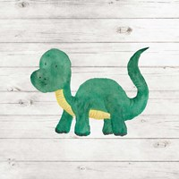 Water Color Dino VI Fine Art Print
