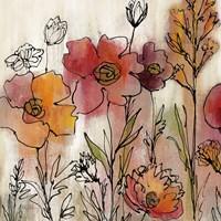 Contemporary Botanical Cream II Fine Art Print