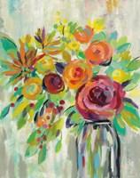 Flower Still Life II Framed Print