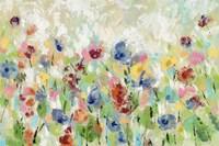 Springtime Meadow Flowers Fine Art Print