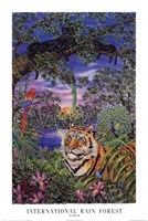 International Rain Forest Fine Art Print