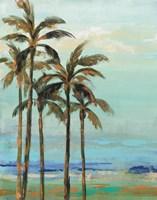 Copper Palms II Fine Art Print