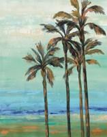 Copper Palms I Fine Art Print