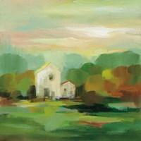 October Farm I v2 Fine Art Print
