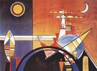 La Grande Piazza a Kiev Fine Art Print
