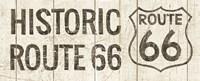 Flea Market Road Sign Route 66 Fine Art Print
