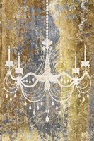 Gilded Chandelier Fine Art Print