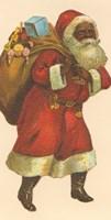 African American Santa III Fine Art Print