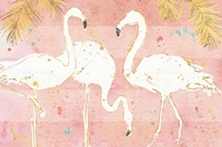 Flamingo Fever IV Fine Art Print