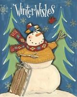 Snowmen Season I Fine Art Print