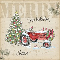Country Christmas III Fine Art Print