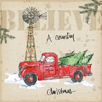 Country Christmas IV Fine Art Print